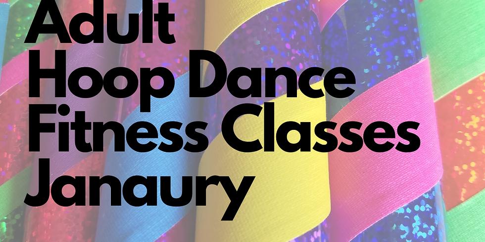 Adult Hoop Dance Fitness Class