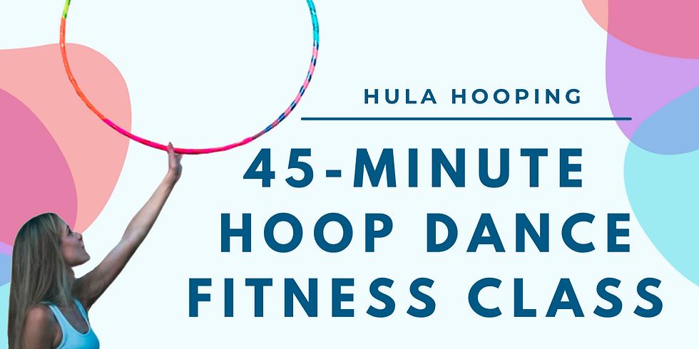 LIVE 45 Min Hoop Dance Fitness Hoop Class   March 23rd