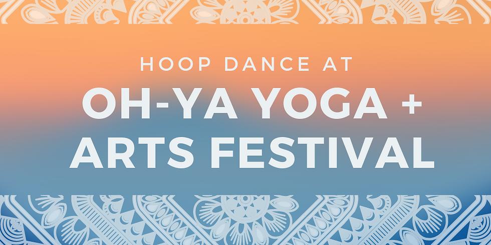 Hoop Dance + Sale at OH YA Yoga + Arts Festival