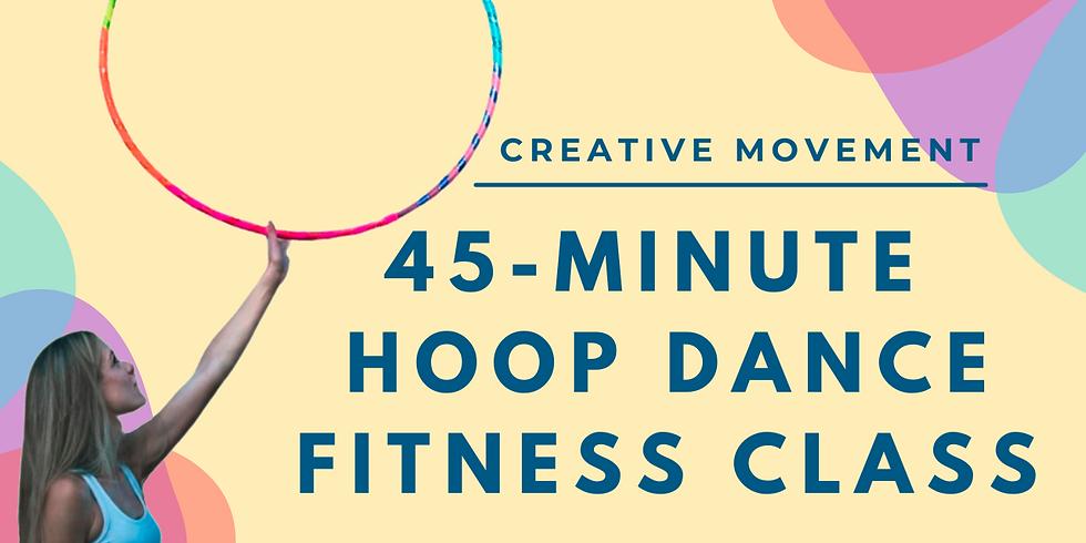 LIVE 45 Min Hoop Dance Fitness Hoop Class | March 30th  (1)