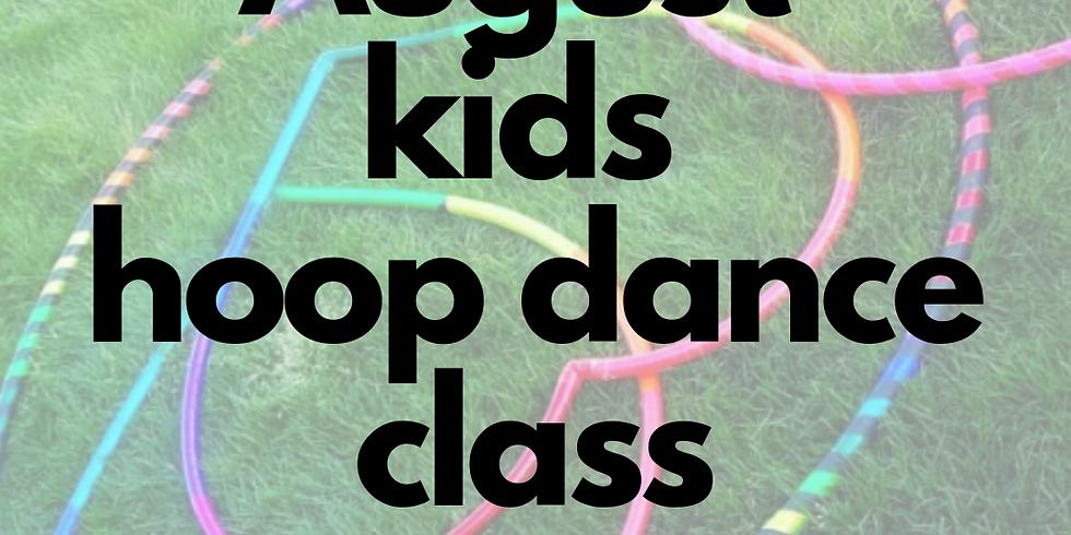 Kids Hula Hoop Star Class   4 Week Series   Mondays