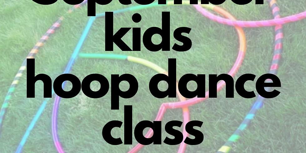Kids Hula Hoop Star Class | 4 Week Series | Mondays  (1)