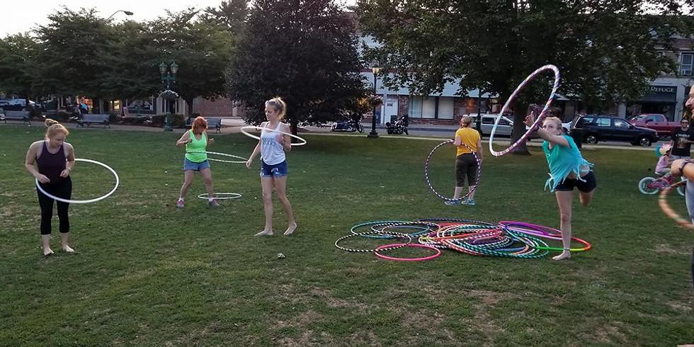 Free Community Hoop Dance | Every Week | Hoopla on the Green | LAST Meetup