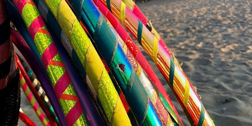 Hoop Dance Beach Class | Surf Club Beach Madison | All ages