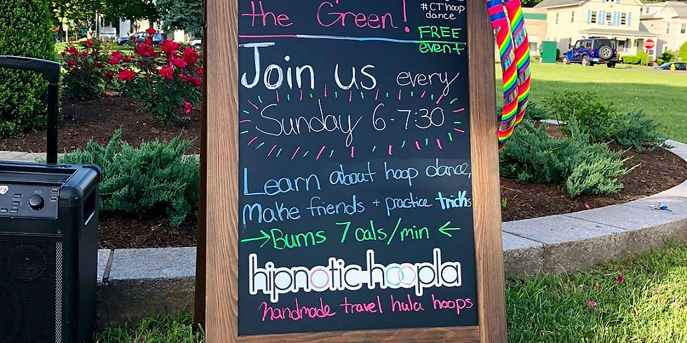Free Community Hoop Dance | Every Week | Hoopla on the Green