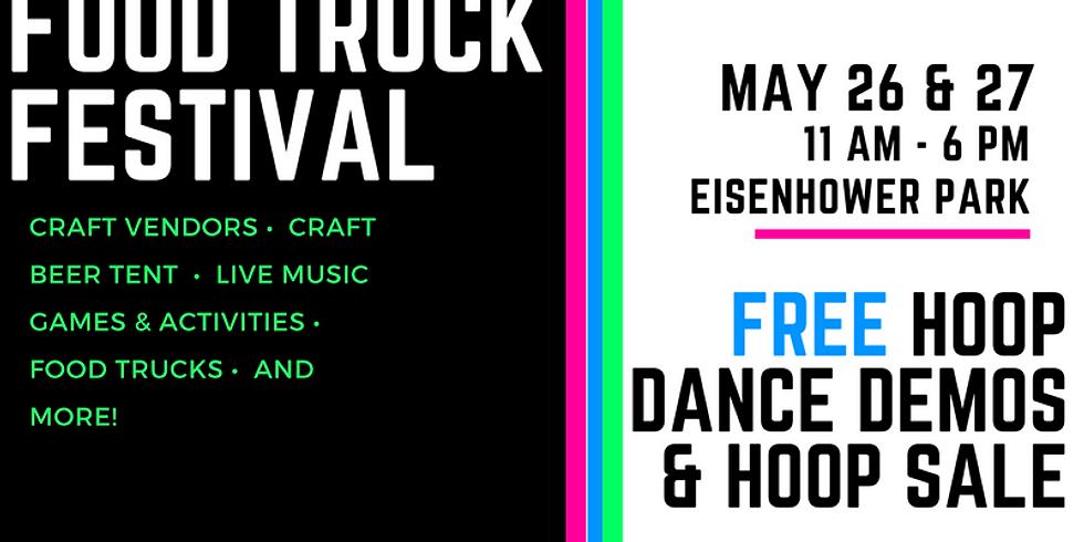 Hoop Dance & Sale   Milford Food Truck Festival