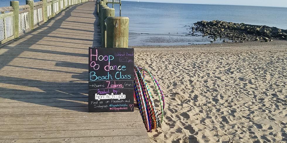 Hoop Dance Beach Class   Milford   Tuesdays