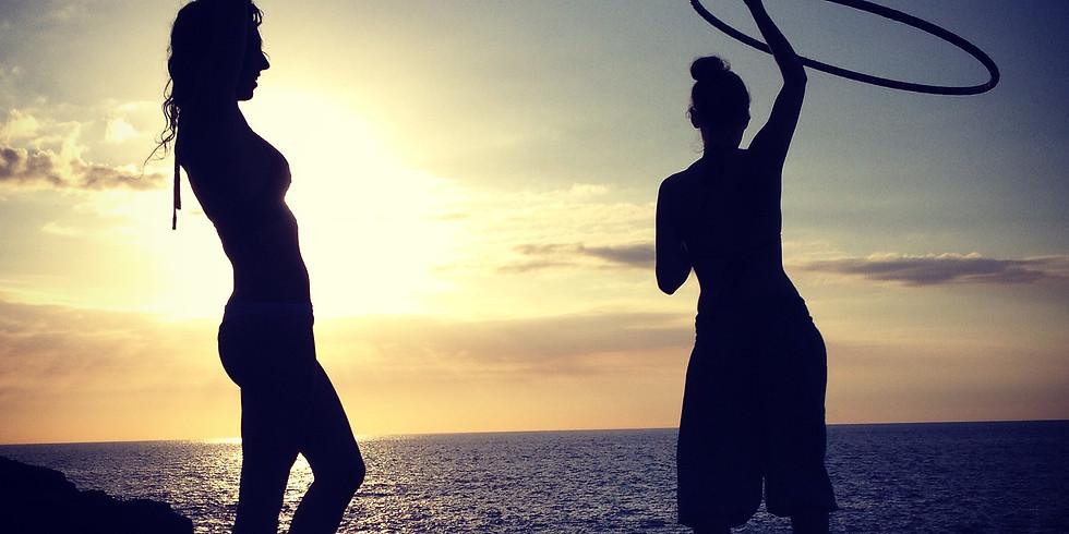 Hoop Dance Workshop & Ice Cream | Walnut Beach