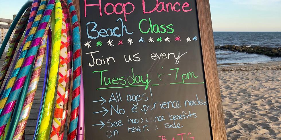MAKEUP Hoop Dance Beach Class | Milford | Tuesdays