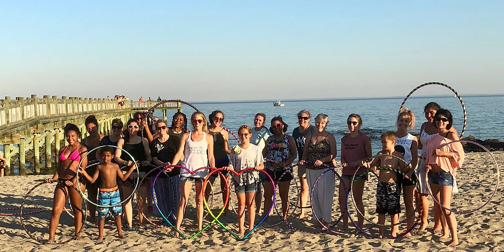 Hoop Dance Beach Class   Walnut Beach Milford   Thursday   All ages