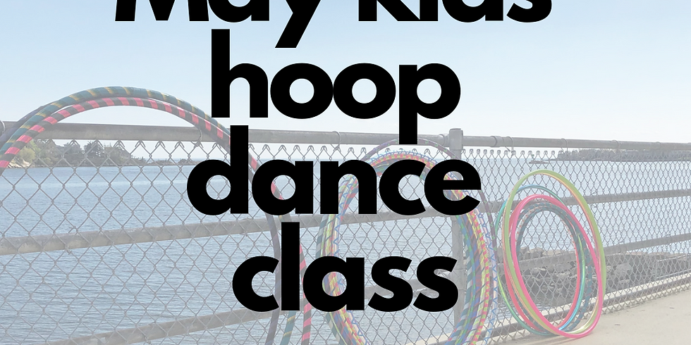Kids Hula Hoop Star Class   4 Week Series   Wednesdays