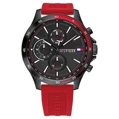 Tommy Hilfiger Horloge rood €179