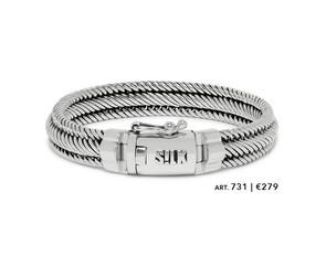 Silk zilveren armband art731 €279