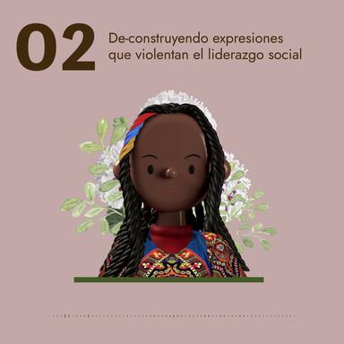 02 De-construyendo expresiones que violentan el liderazgo social