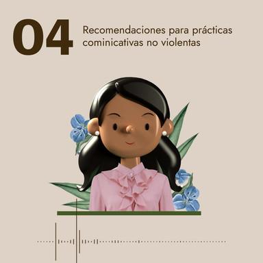 04 Recomendaciones para prácticas comunicativas no violentas
