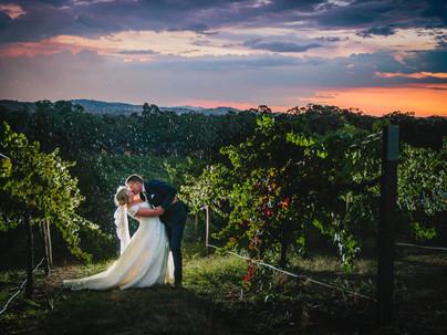 Graham & Bec Winery Wedding