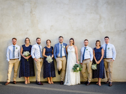 Sarah & Hudson's Albury Wedding Wonderland