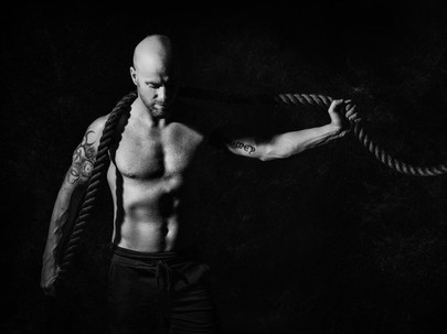 Personal Trainer and Active Therapy Coach- Aaron's Branding Images