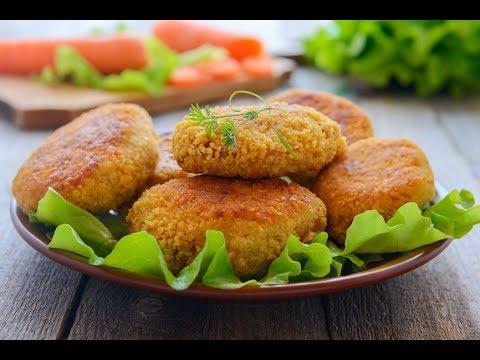 картофельно-овощные котлеты