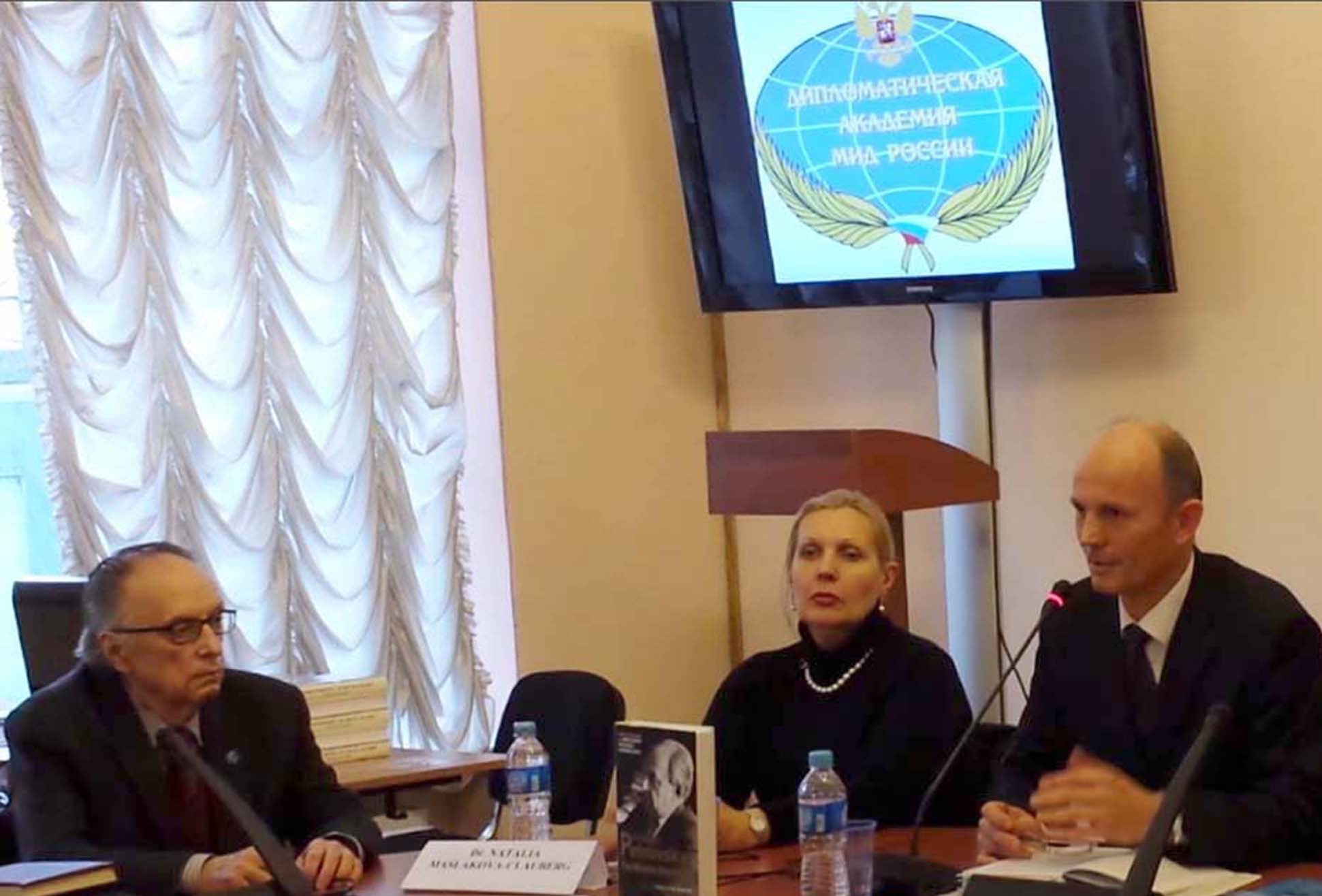 The Book Presentation in Moscow