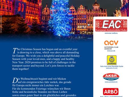EAC Weihnachtsgruß / Season's Greetings