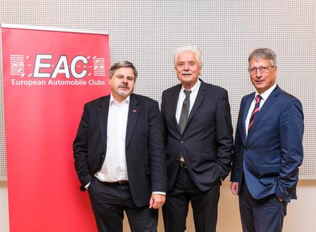 Holger Küster zum Vizepräsidenten des EAC gewählt