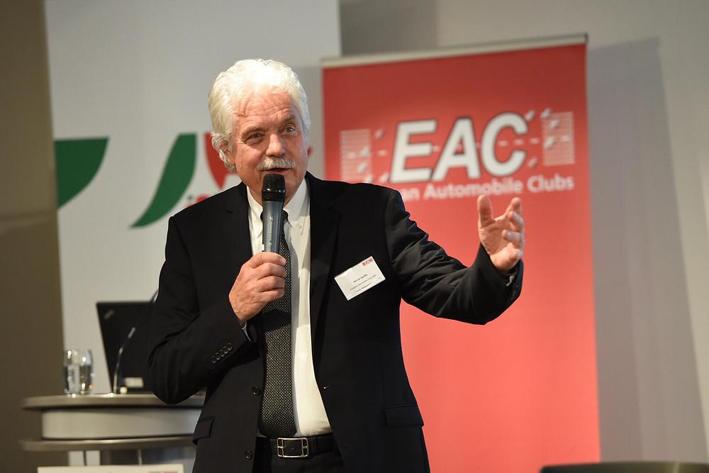 EAC president Bernd Opolka. Foto: EAC.
