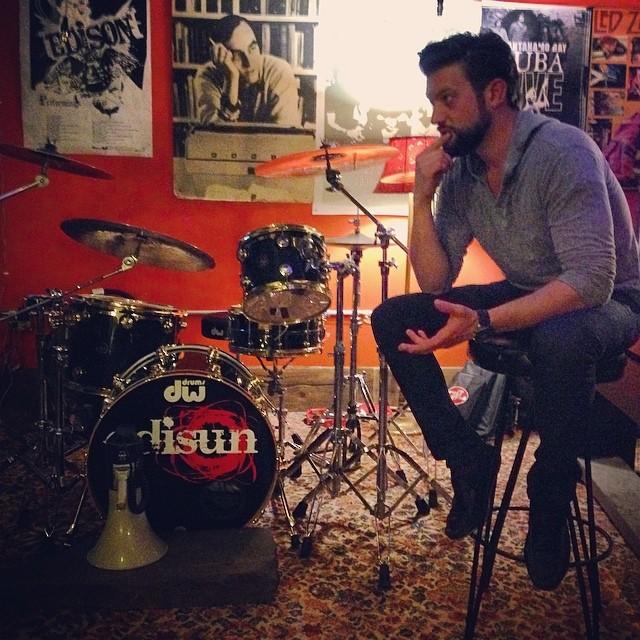Instagram - #tourlife #thinkingman #rehearsal #rock @joelpkelley