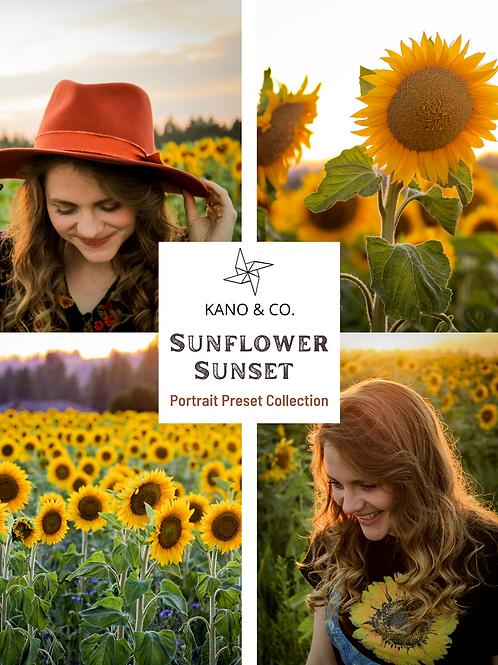 Sunflower Sunset - Portrait Preset Collection