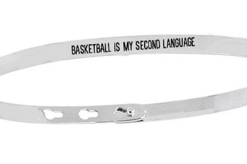 BASKETBALL IS MY SECOND LANGUAGE