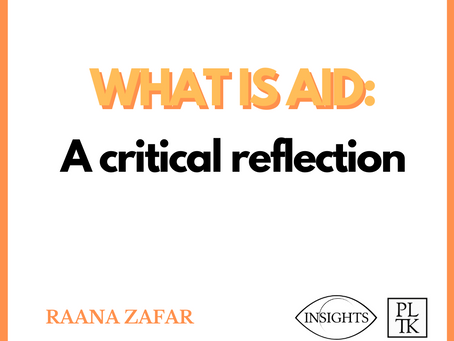 WHAT IS AID: A critical reflection