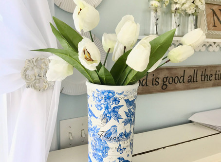 13 Easy and Inexpensive Decorating Ideas for Spring with Things You Have Around Your House
