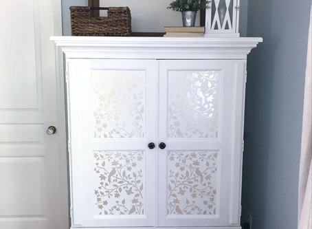 My Craft Cabinet Is Finished!
