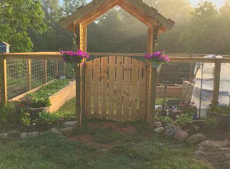 A Farmhouse Kitchen Garden - My Dream Come True!