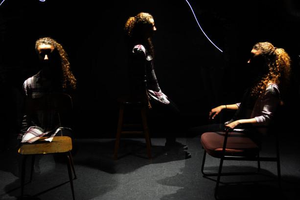 Studio Shoot with long exposure