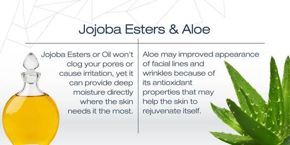 Jojoba Esters & Aloe