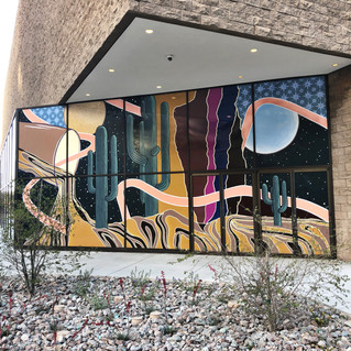 Mural on Glass