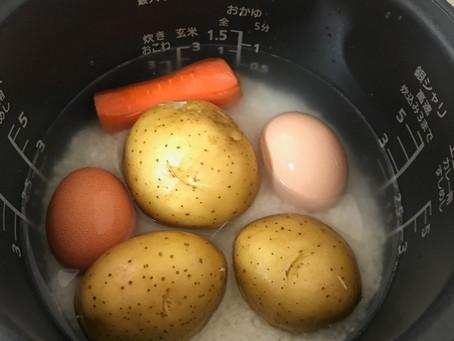 炊飯器で時短&節約調理♪