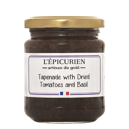Dried Tomatoes & Basil Tapenade, L'Epicurien (7.05oz)