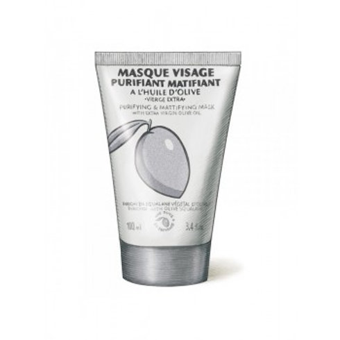 Face Pure & Matifying Mask, Une Olive en Provence (100ml)