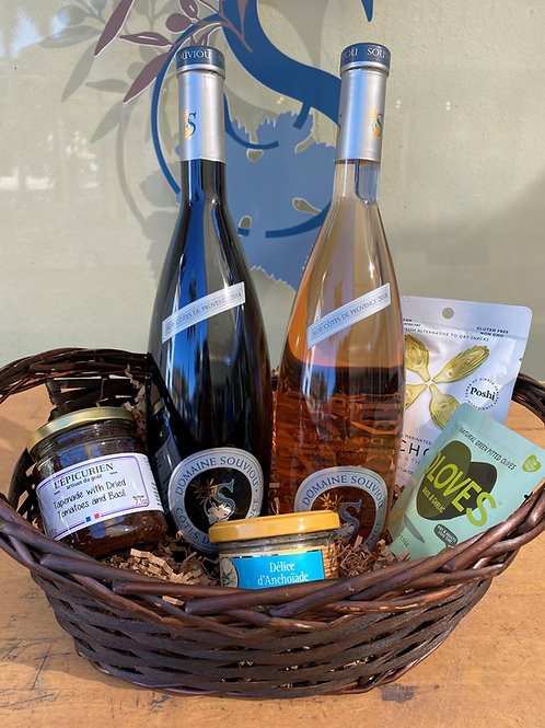 Côtes de Provence Wine Basket