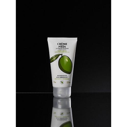 Foot Cream, Une Olive en Provence (75ml)
