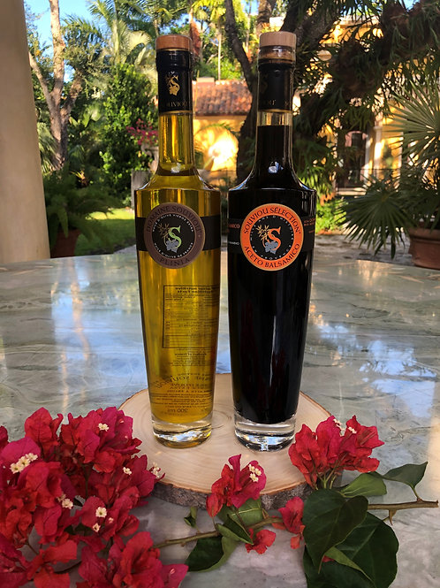 Olive Oil - Balsamic Vinegar Gift Duo (Large)
