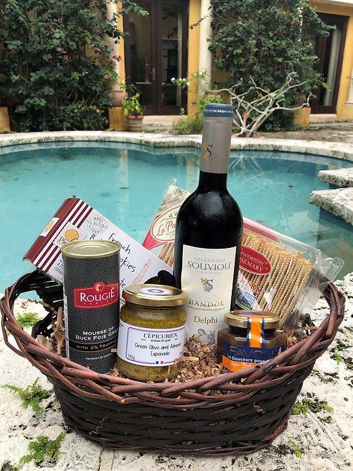Sweet and Simple Gift Basket