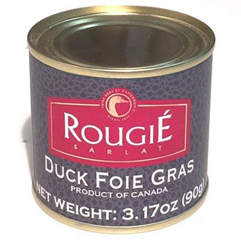 Duck Foie Gras shelf stable, Rougié (3.17oz)
