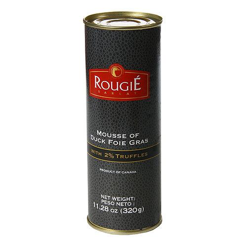 Mousse of Duck Foie Gras with 2% Truffle, Rougié (11.28oz)