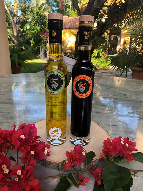 Olive Oil - Balsamic Vinegar Gift Duo (Small)