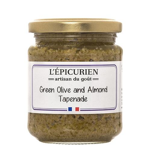 Green Olives & Almond Tapenade, L'Epicurien (7.05oz)