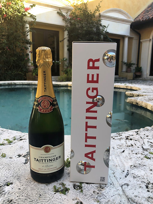 Champagne Taittinger Brut La Francaise, France (750ml)