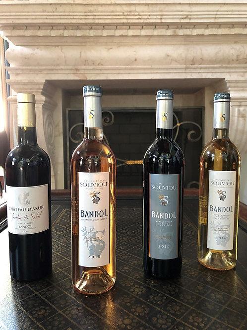 4-Bottle Bandol Wine Deal